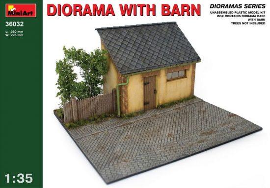 MiniArt Diorama With Barn