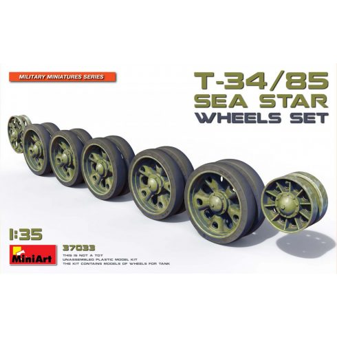 MiniArt T-34/85 SEA STAR WHEELS SET