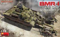 MiniArt BMR-1 Late Mod. with KMT-7 makett
