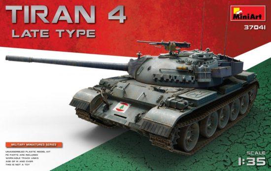 MiniArt Tiran 4 Late Type makett