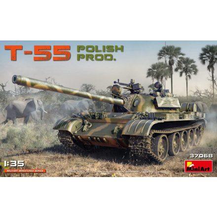 MiniArt T-55 Polish Prod. makett