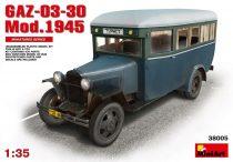 Heller Passanger Bus GAZ-03-30 makett