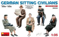 MiniArt German Sitting Civilians'30s-'40s