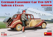 MiniArt German Passenger Car Typ 170V Saloon 4 Doors makett
