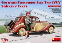 MiniArt German Passenger Car Typ 170V Saloon 4 Doors makett