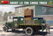 MiniArt Soviet 1,5 ton Cargo Truck makett
