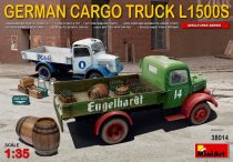 MiniArt L1500S German cargo truck makett