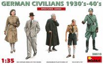 MiniArt German Civilians 1930-40s