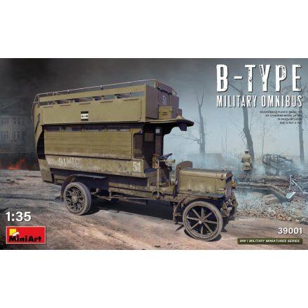MiniArt  B-Type Military Omnibus makett