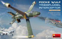 Miniart Focke-Wulf Triebflügel Interceptor makett