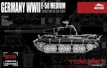 Modelcollect E-50 Medium Tank with 88 Gun makett
