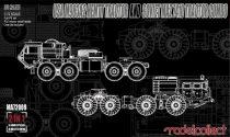 Modelcollect USA M983A2 HEMTT Tractor and Soviet MAZ 7410 tractor COMBO makett