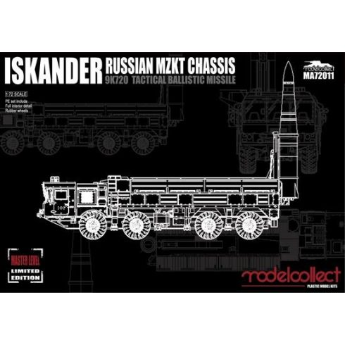 Modelcollect Iskander 9K720 Tactical ballistic missile makett