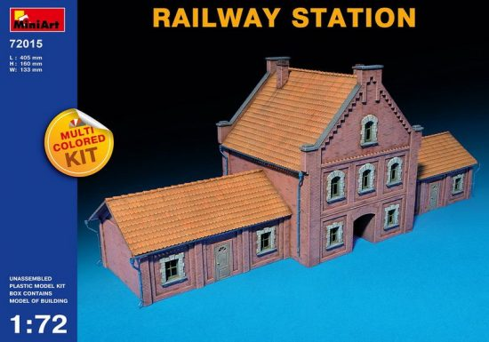 MiniArt Railway Station