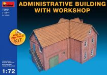 MiniArt Administrative Building with Workshop