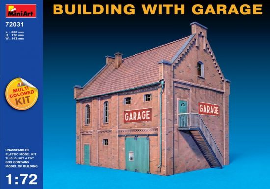MiniArt Building with Garage