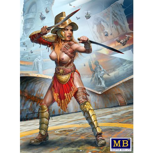 "Masterbox Dimachaerus (master of two blades) Champion-""Parselen"" AKA Helen Parsons"
