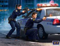 Masterbox The Heist series, Sgt Jack Melgoza and Patrolman Sally Taylor