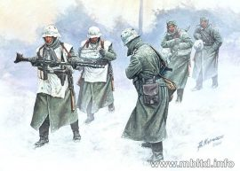 Masterbox Cold Wind, German Infantry 1941-42