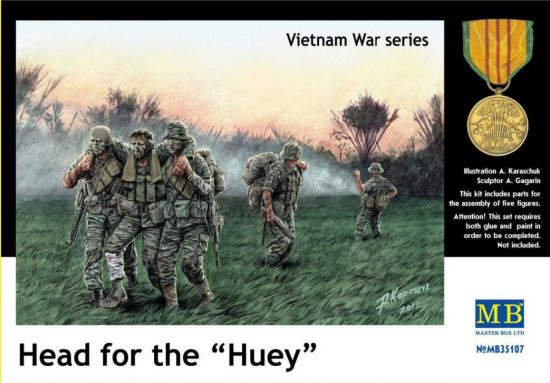 "Masterbox Head for the ""Huey"", Vietnam"