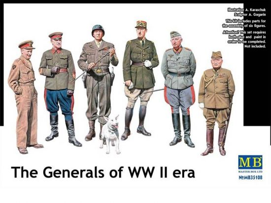 Masterbox The Generals of WWII