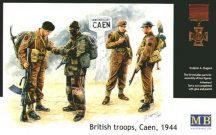 Masterbox British Troops Caen 1944