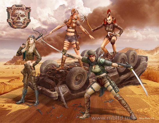Masterbox Skull Clan - Death Angels