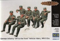 "Masterbox German infantry ""Off to the front"" Vehicle riders"