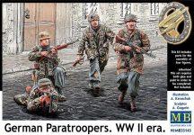 Masterbox German Paratroopers, WWII