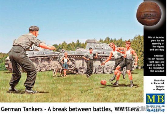 Masterbox German Tankers - A Break