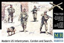 Masterbox Modern US infantrymen Cordon and Search