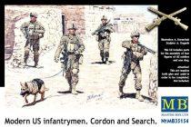Masterbox Modern US infantrymen Cordon and Search