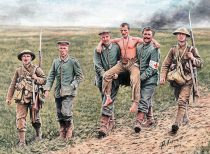 Masterbox British and German soldiers, Somme Battle, 1916