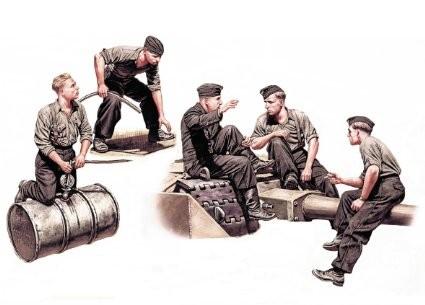 Masterbox German Tankmen