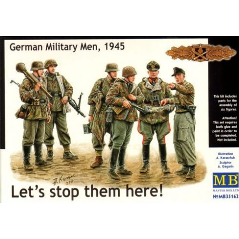 Masterbox German Military Men, 1945