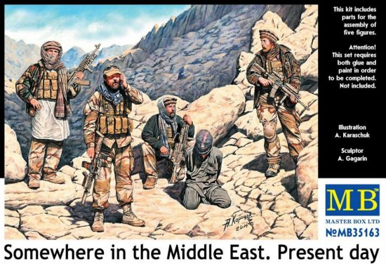 Masterbox Somewhere in the Middle East, Present day