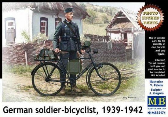 Masterbox German Soldier-Bicyclist