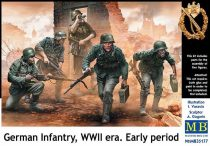 Masterbox German Infantry WWII Early Period