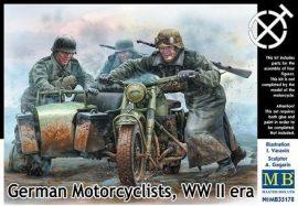 Masterbox German Motorcyclists