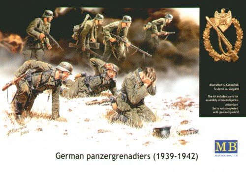 Masterbox German Panzergrenadiers 1939-1942