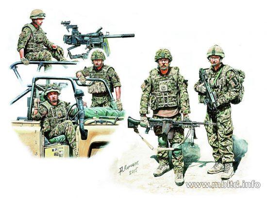 Masterbox Modern UK Infantrymen, present day
