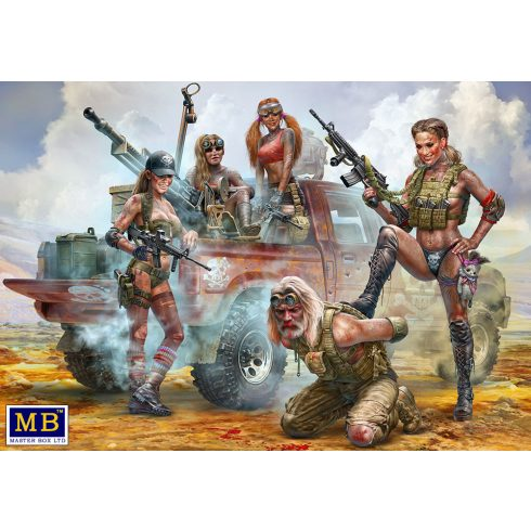 Masterbox Desert Battle Series. Skull Clan - New Amazons