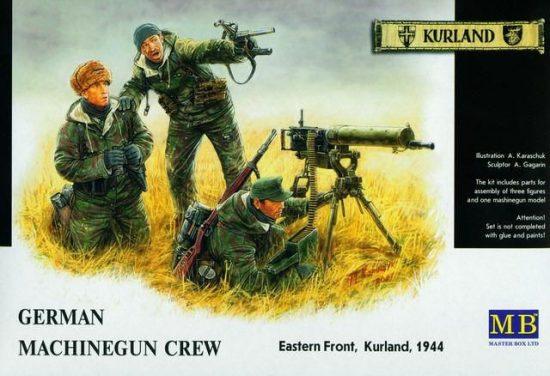 Masterbox German Machine gun Crew, Eastern Front, Kurland, 1944