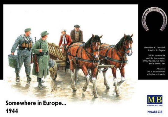 Masterbox Somewhere in Europe 1944