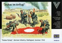 Masterbox German Infantry, Stalingrad, Summer 1942