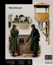 Masterbox German WWII Watchtower & figures