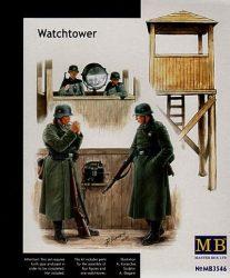 Masterbox German WWII Watchtower & figures