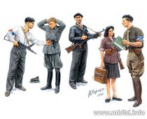 Masterbox French Resistance and captured German
