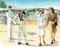 Masterbox Women At War US Navy Waves