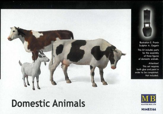 Masterbox Domestic Animals
